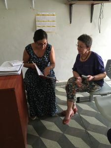 Lima Independencia Pasistos de Esperanza 9 avril 2016 avec Katia présentation des comptes