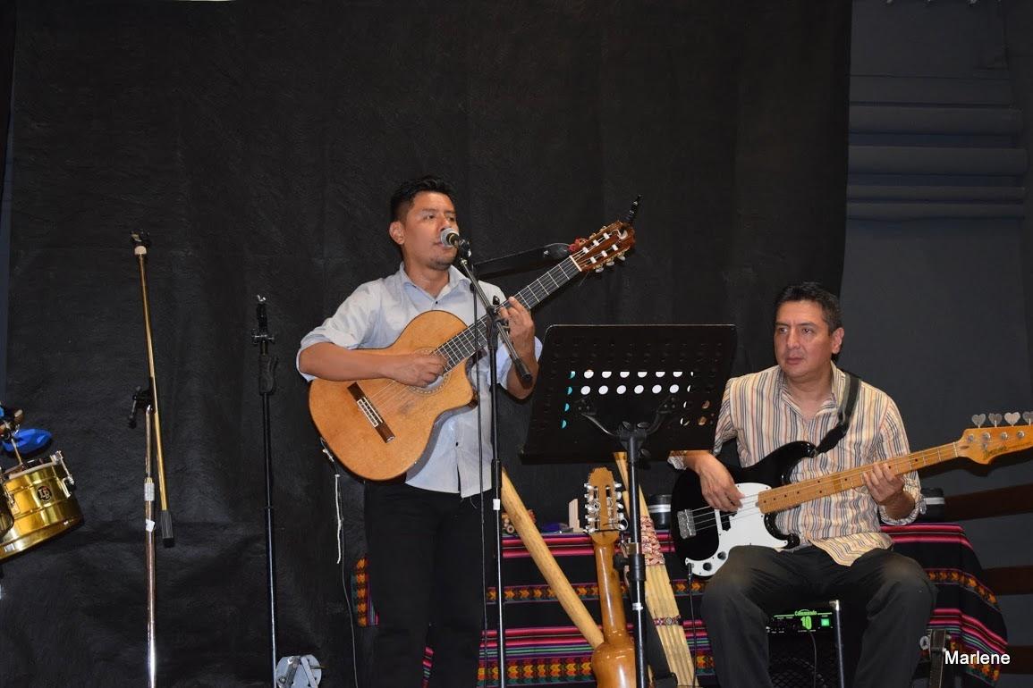 Jesus frère de Katia venu de Lima pour participer à cet événement